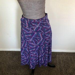 "LulaRoe ""azure"" skirt"